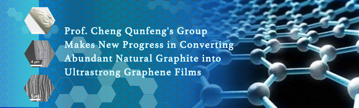 Prof  Cheng Qunfeng's Group Makes New Progress in Converting